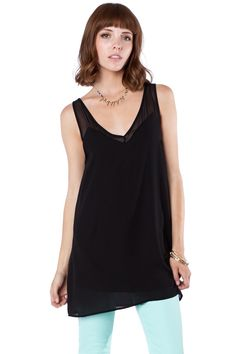 Pallana Tunic / ShopSosie #tunic #basic #chiffon #shopsosie