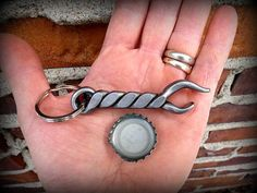KEYCHAIN BOTTLE OPENER Personalized Option Available by NazForge