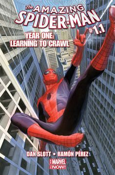 Dan Slott Reveals Amazing Spider-Man - Year One: Learning to Crawl - IGN