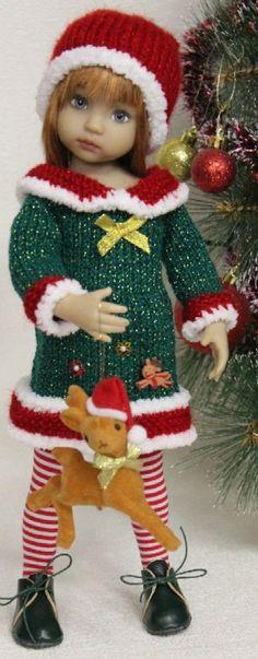Dianna Effner Christmas Doll