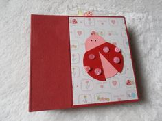 Premade Ladybug Scrapbook Album by SimplyMemories on Etsy. Perfect for photos of your favorite little girl