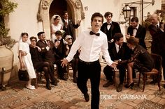 Dolce & Gabbana Fall/Winter 2013 Man campaign; Mariano Vivanco photography.