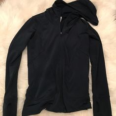 Gap Body Fit Jacket Gap Body Fit Jacket.  Soft and cozy inside, front pocket detail.  Navy color.  Worn once. GAP Jackets & Coats