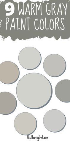 The 9 best warm gray paint shades that work in almost every room. Warm Gray Paint, Neutral Paint Colors, Wall Paint Colors, Warm Grey, Room Colors, Diy Painting, Interior Painting, Most Popular Paint Colors, Greige Paint
