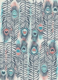 Image via We Heart It #blue #colors #feather #feathers #heart #iphone #wallpaper #wallpapers #whatsapp #sfondi #love