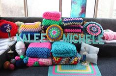 Retro-inspired - #Crochet Makers: Kalee Michelle