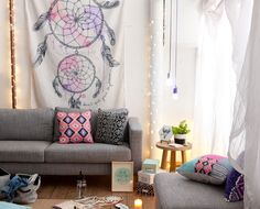 Create living space envy #typoshop #style #decor #apartment #home #tapestry
