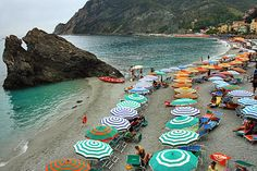 Monterosso al Mare, Cinque Terre, Italy  Take your own time out with our Taste of Cinque Terre Tour: http://www.keytours.com/Services/Escorted/escortedTour_Feature.asp?UnAvailable=0_Code=ITAFLR02_ID=3015_ID=66