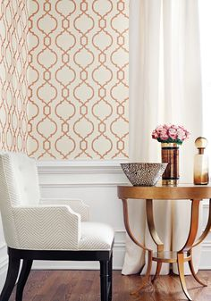 Cortney from Geometric Resource 2 Collection. To order contact us at http://lelandswallpaper.com/store/Display:Show:Contact #trellis #geometric #wallpaper