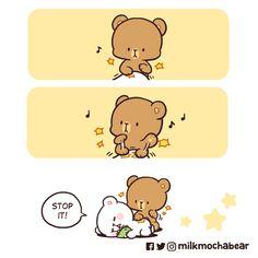 Cute Couple Comics, Cute Couple Cartoon, Cute Comics, Cute Love Gif, Cute Love Pictures, Cute Cartoon Images, Cute Cartoon Wallpapers, Bear Gif, Cute Bear Drawings