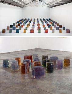 Untitled (Sixteen Spaces), Rachel Whiteread.