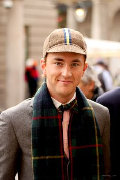 Francis Boulle- actually looks attractive here. Great style