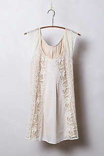Anthropologie - Edelweiss Tulle Tunic #anthropologie #pintowin Tried this on!! love it