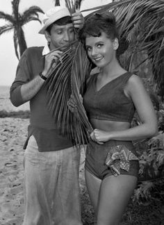 For those of us that remember...Gilligan Bob Denver and Mary Ann Dawn Welles in Gilligan's Island