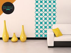 """Use alone or paired with multiple tiles for a stripe, border or wallpaper effect. All tiles are """"seamless,"""" which means you can stack them, line them up side by side or tile them for an all-over seamless wallpaper look."""