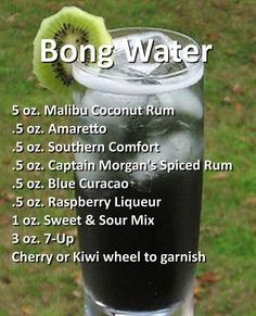 Halloween Cocktail Recipes that are Spooktacular bong water ha. - Halloween Cocktail Recipes that are Spooktacular bong water halloween cocktail - Liquor Drinks, Cocktail Drinks, Beverages, Cocktail Recipes, Baileys Drinks, Mixed Drinks Alcohol, Alcohol Drink Recipes, Halloween Cocktails, Halloween Party