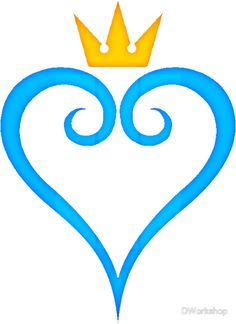 I Want This As A Tattoo Or The Heartless Or Nobody Symbol Kingdom