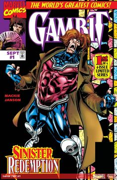 Gambit 1 of 4 issues 1997