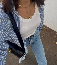 9 Comfortable Summer Outfits That Are So Simple to Throw On | Who What Wear Comfortable Summer Outfits, Simple Summer Outfits, Cute Casual Outfits, Spring Outfits, Summer Ootd, Summer Men, Outfit Summer, Summer Clothes, Stylish Outfits