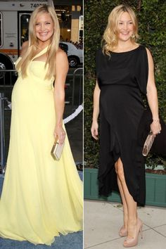 Glowing Kate Hudson is equally adorable with the bump as she is without it. We LIKE!