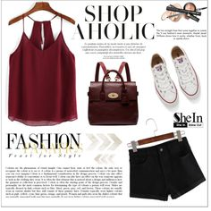 SheIn by aurora-australis on Polyvore featuring Converse, Mulberry and Sheinside