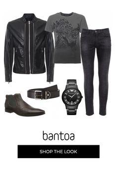 In Pelle Con Borchie Look Jeans Cintura Argento Metallico Nuovo