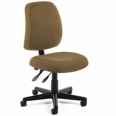 Discover the OFM Posture Task Chair starting at $135.95! Features: Built-in lumbar support Height & pitch adjustable back Gas lift seat height adjustment Fully upholstered back 250 lbs. weight capacity Casters included (see accessories below for additional options) Stain-resistant fabric Meets or exceeds ANSI/BIFMA safety standards