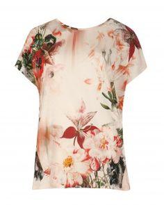 Opulent bloom print top - OBLOOM - Ted Baker