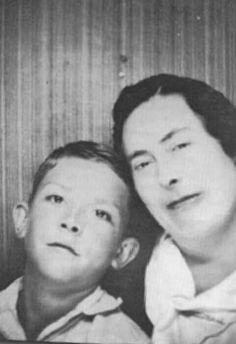 Hank & his mama, Lillie