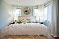 sherwin williams sea salt pictures | My official inspiration for this room comes from this bedroom at ...