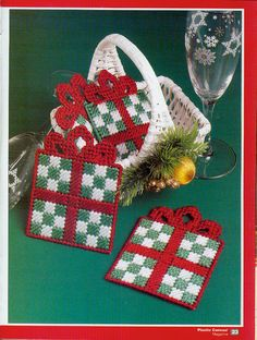GIFT BASKET COASTERS by MICHELE WILCOX 1/2