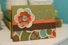 Booth #32: Just for You Flower Card