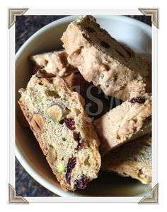 Life's Simple Measures: TWD Baking with Julia: Cranberry Pistachio Biscotti