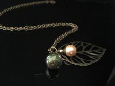 """Ketten lang - Herbstkette """"Blatt"""" - ein Designerstück von Simsalabim-SabrinaW bei DaWanda"""