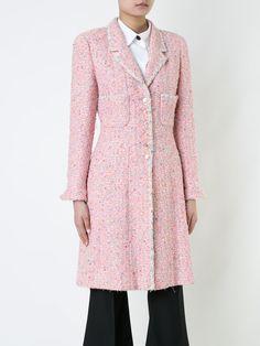Chanel Vintage  long sleeve tweed coat  $3,006