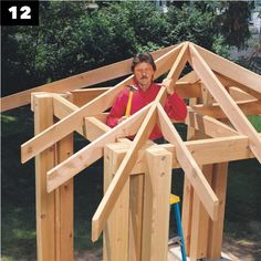 The wooden pergola is a good solution to add beauty to your garden. If you are not ready to spend thousands of dollars for building a cozy pergola then you may devise new strategies of trying out something different so that you can re Outdoor Pavilion, Outdoor Pergola, Metal Pergola, Pergola Plans, Pergola Ideas, Screened Gazebo, Cedar Roof, Cedar Posts, Wooden Gazebo