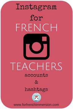 Instagram for French Teachers