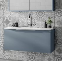 Halo Furniture from Utopia Neat And Tidy, Modular Bathrooms, Bathroom Furniture, Integrated Handles, Furniture, Contemporary Bathroom, Modular, Mirror Cabinets, Home Decor
