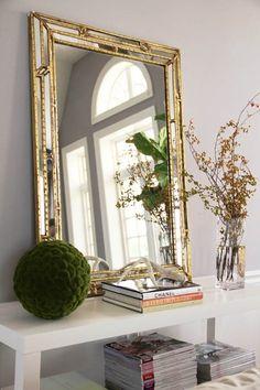 Marcus Design: love that mirror!