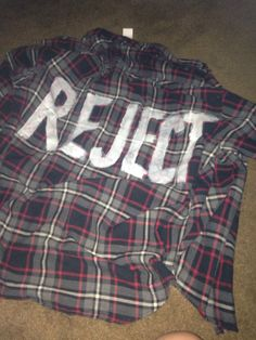 5SOS Inspired REJECT handmade vintage flannel by RejectsCloset, $30.00 want it, want it badly