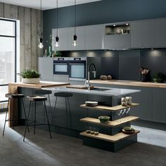 New Industrial [Howdens Kitchen Design Trends for — French For Pineapple