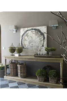 20 Ways To Style Your Console Table | sheerluxe.com