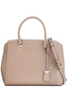 fcc48388d75e Eyelet-embellished leather shoulder bag | MICHAEL MICHAEL KORS | Sale up to  70% off