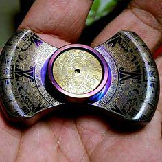 homemade hand spinner design