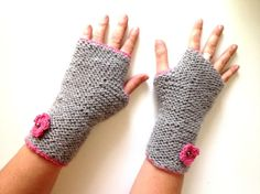 (6) Name: 'Knitting : Simple Mittens