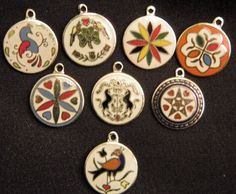 PA Dutch symbol charms