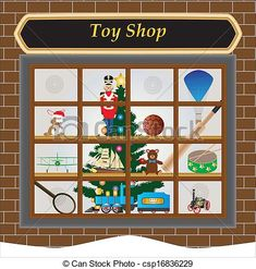 Window Shopping Clipart images