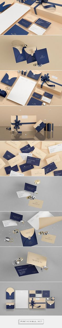 Movest - Jewelry in motion on Behance - created via http://pinthemall.net | Graphic Design | Branding |