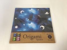 Origami Chiyogami Pape Space 32 sheets 4 colors PaperCraft Made in Japan  | eBay