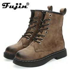 a199b77d5bf78 Women s black grey Motorcycle Military Canvas Ankle Boots Lace Up Western  Riding Boot Big Size Shoes Women 2017 Autumn Winter-in Ankle Boots from  Shoes on ...